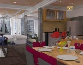 Nro 3 kilpailuun [3ds MAX] Produce realistic renders based on floor plans. Multiple winners possible käyttäjältä TMKennedy