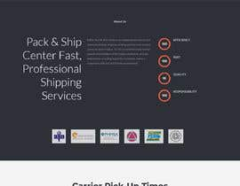#152 for Website Design for Postal Shipping Company af magdalenoal5018
