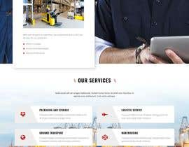 #105 for Website Design for Postal Shipping Company af tanzin89