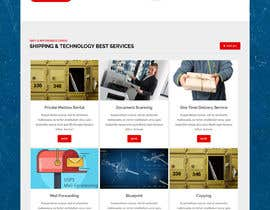 #157 for Website Design for Postal Shipping Company af ksumon4711