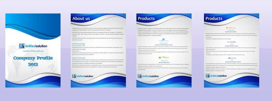 Penyertaan Peraduan #                                        34                                      untuk                                         Graphic Design for Company profile