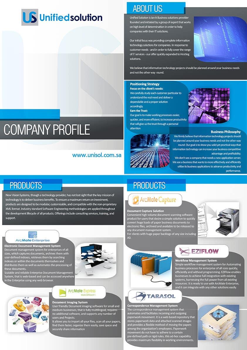 Penyertaan Peraduan #                                        33                                      untuk                                         Graphic Design for Company profile