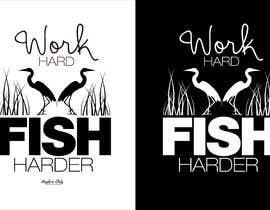 Nro 21 kilpailuun Design a Fishing T-Shirt with a Vintage Style käyttäjältä rabin610