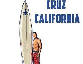 #17 for Edit an existing T-Shirt Design: Santa Cruz, California by mustaksany