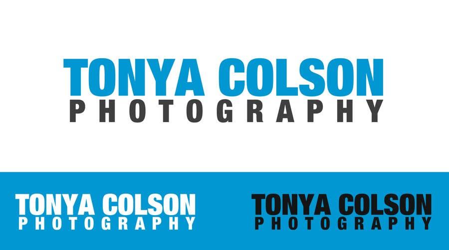 Конкурсная заявка №79 для Logo Design for Tonya Colson Photography