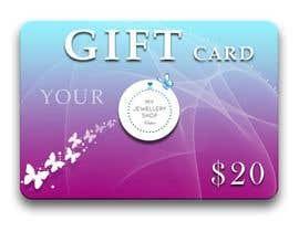 mishante tarafından Design some Stationery for a gift card to used on a website için no 13