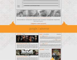 nº 14 pour Website Design for guilde agora par hipnotyka