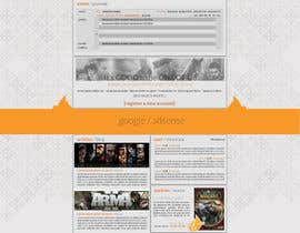 nº 8 pour Website Design for guilde agora par hipnotyka