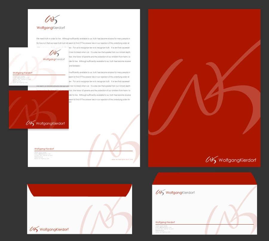 Inscrição nº 106 do Concurso para Logo Design for Personal Brand Logo: Wolfgang Kierdorf