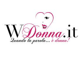 #74 para Logo Design for www.wdonna.it por stanbaker