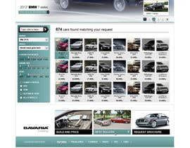 #42 para Website Design for Bavaria KBH (Car Leasing + Finansing website) por solidussnake