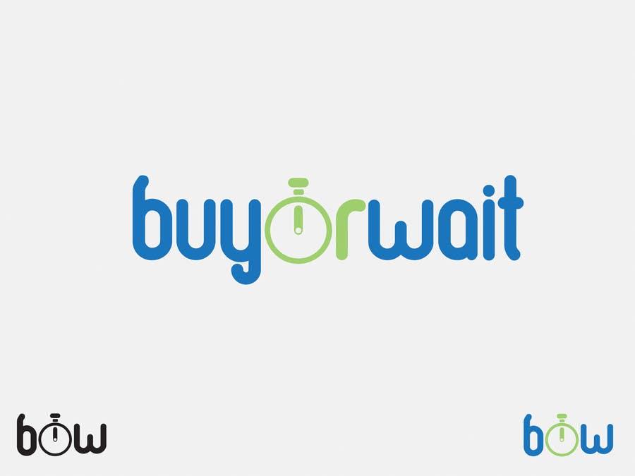Конкурсная заявка №1432 для Logo Design for BuyOrWait