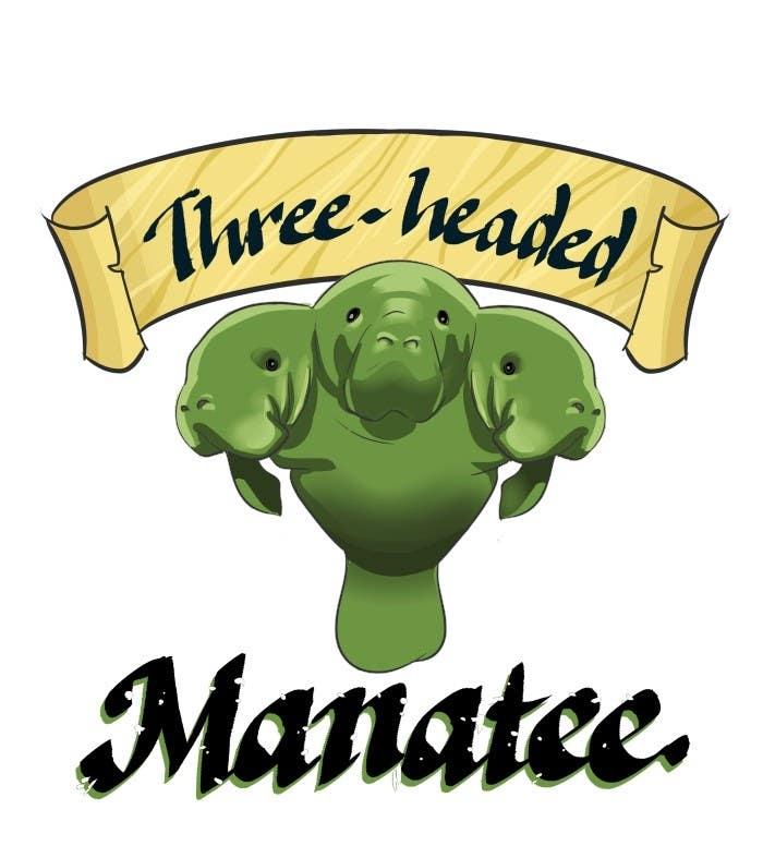 Inscrição nº                                         21                                      do Concurso para                                         Logo Design for Three-headed Manatee