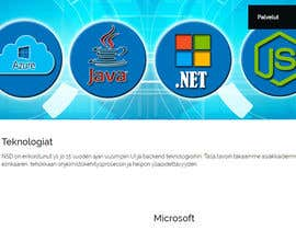 #59 untuk Design a Banner for a software technology web page oleh Tukai9836