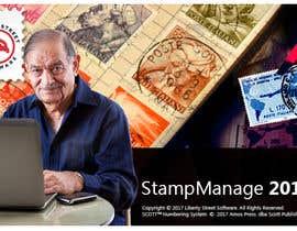 Nro 32 kilpailuun Splash Screen For Our Stamp Collecting Software käyttäjältä Ashleyperez