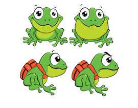 #29 para Help us create a FROG that will be our MAIN CHARACTER for new KIDS ipod app. por aslikarabudak