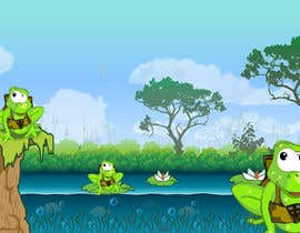#60 para Help us create a FROG that will be our MAIN CHARACTER for new KIDS ipod app. por JDesignsCo