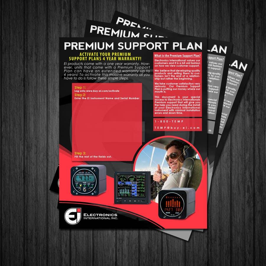 Конкурсная заявка №35 для Flyer Design for Electronics International