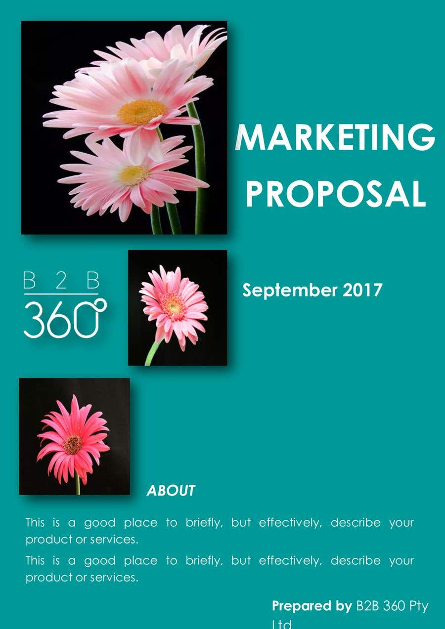 Entry 16 By Driesputter For I Need Help Designing A Proposal