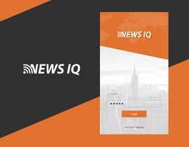 Nro 9 kilpailuun Design logo and splash/loading screen for News App käyttäjältä solankisaikat