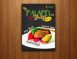 #9 for Falafel Wrap. by sairalatief