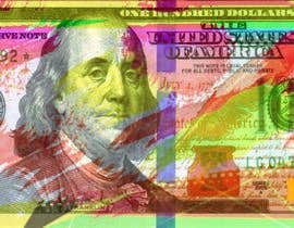 #22 for Create High Quality and Very Colorful Artwork of a $100 Dollar US Bill af pinky2017