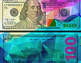 #35 for Create High Quality and Very Colorful Artwork of a $100 Dollar US Bill af HyperlightArt
