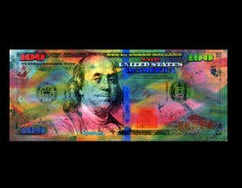 #46 for Create High Quality and Very Colorful Artwork of a $100 Dollar US Bill af ilawton