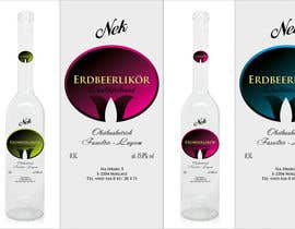#140 for Graphic Design- Label for fruit liqueur. by BuDesign