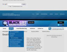 #31 untuk Website Design for Global eBusiness Solutions, Inc. (Blacklist Monitoring Website) oleh MishAMan