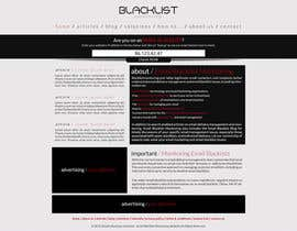 #42 para Website Design for Global eBusiness Solutions, Inc. (Blacklist Monitoring Website) por hipnotyka