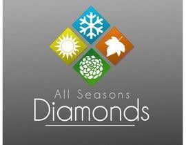 nº 86 pour Logo Design for All Seasons Diamonds par bookwormartist