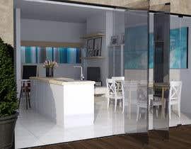 Nro 49 kilpailuun Kitchen & Living room Interior Design käyttäjältä mitrabota