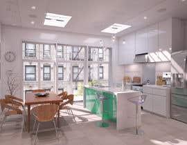 Nro 29 kilpailuun Kitchen & Living room Interior Design käyttäjältä zezof2009