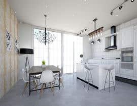 Nro 26 kilpailuun Kitchen & Living room Interior Design käyttäjältä Kinterior
