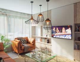 Nro 25 kilpailuun Kitchen & Living room Interior Design käyttäjältä vlado77