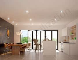 Nro 47 kilpailuun Kitchen & Living room Interior Design käyttäjältä Maxvisualization