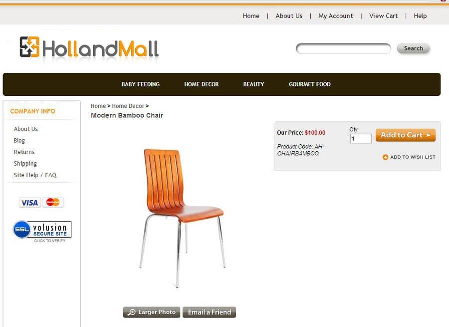 #83 for Logo Design for HollandMall by facebooklikes007