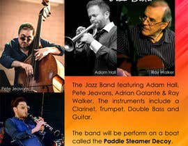 #4 cho Design an A3 Poster for a 4 piece Jazz Band bởi sujithnlrmail