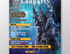 #20 for Make a poster for a LAN party af clickjustdesign