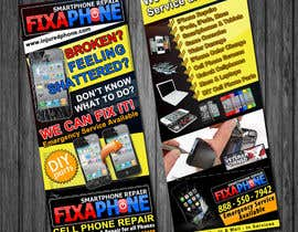 #15 para Graphic Design Flyer for Fix A Phone por qoaldjsk