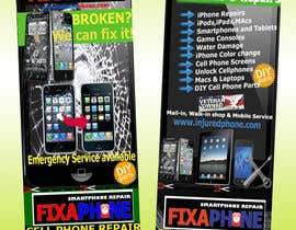#21 for Graphic Design Flyer for Fix A Phone by ammarkhan19