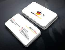 #87 for Design a Business Cards using this logo and information :1 af Habib2858