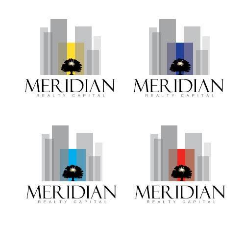 Kilpailutyö #602 kilpailussa Logo Design for Meridian Realty Capital