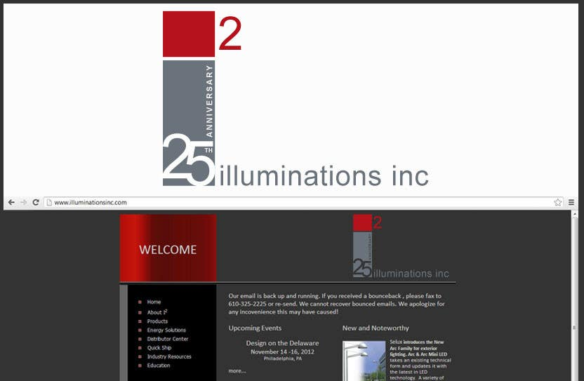 #25 for Logo Design for Illuminations, Inc. by Anamh