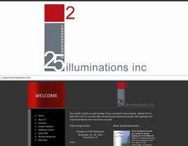 #25 para Logo Design for Illuminations, Inc. por Anamh