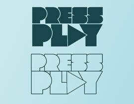 #25 for Press Play business logo by Exer1976