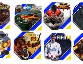 Nro 59 kilpailuun Creation of 8 video game badges (cover) / PVPSKILLS käyttäjältä MrSlimon