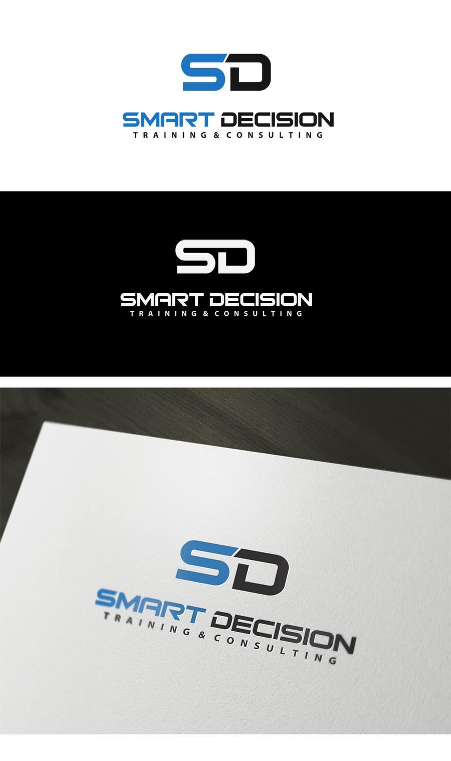 #1 for Logo Design for Smart Decision and Skills Training & Consulting by gfxbucket