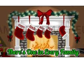 #12 for Christmas Fireplace Scene by E1matheus